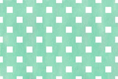 Watercolor square pattern. Royalty Free Stock Photo
