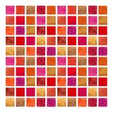 Watercolor grunge colorful square shapes. Hand drawn stock images