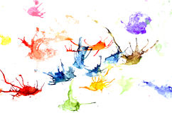 Watercolor stain Royalty Free Stock Photo