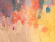Watercolor Stains Royalty Free Stock Images