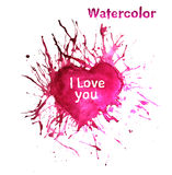 Watercolor Stains Royalty Free Stock Photography