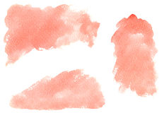 Watercolor stains Royalty Free Stock Photos