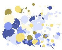 Watercolor stains grunge background vector. vector illustration