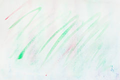 Watercolor stains, strokes of green shades. Abstract watercolor background. Delicate shades of tender spring colors Stock Photography