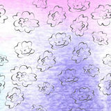 Watercolor stains, water vector backgrounds. Watercolor stains. painted watercolor background Stock Image