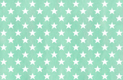 Watercolor stars pattern. Royalty Free Stock Image