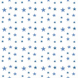 Watercolor stars pattern Royalty Free Stock Photos