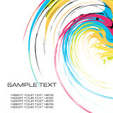 Watercolor stationery Royalty Free Stock Image