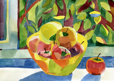 Free Watercolor Still Life Stock Images - 44705464