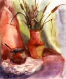 Watercolor still life Royalty Free Stock Photos