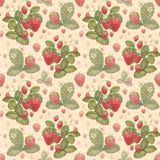 Watercolor strawberry pattern royalty free illustration