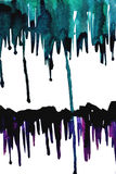 Watercolor streaks Royalty Free Stock Photo