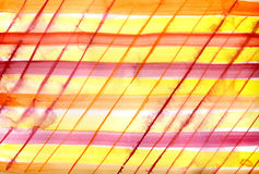 Watercolor striped background Stock Photography
