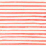 Watercolor striped background. Hand painted red watercolor striped background Stock Images
