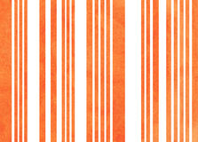Watercolor striped background. Royalty Free Stock Photography