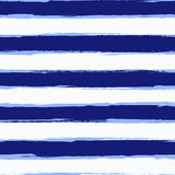 Watercolor striped seamless pattern Royalty Free Stock Image
