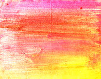 Watercolor stripes Stock Photography