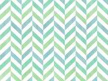 Watercolor stripes background, chevron. Stock Photo