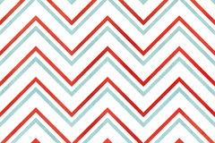 Watercolor stripes background, chevron. Stock Image