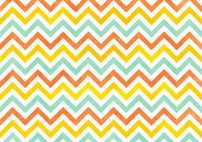 Watercolor stripes background, chevron. Royalty Free Stock Photography