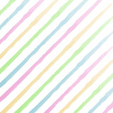 Watercolor stripes background Stock Photos