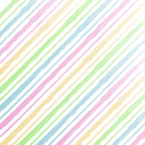 Watercolor stripes background Royalty Free Stock Photography