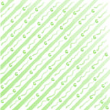 Watercolor stripes and dots background Royalty Free Stock Images