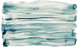 Watercolor strokes background. Watercolor hand painted brush strokes are isolated on a white background Stock Images