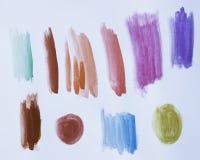 Watercolor Strokes Stock Photos