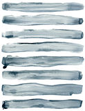 Watercolor strokes Royalty Free Stock Image