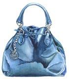 Watercolor style handbag. From set Royalty Free Stock Photos