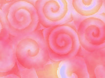 Watercolor swirls Royalty Free Stock Photos