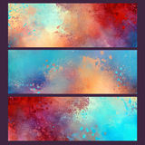 Watercolor tamplate. Watercolor wallpaper background splash design stock illustration