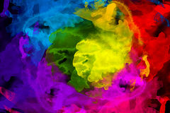Watercolor texture background Stock Photography