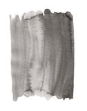 Watercolor texture. Background of black and white watercolor painted illustration Royalty Free Stock Photo