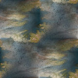 Watercolor texture  brown, dark blue  background Stock Image