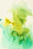 Watercolor texture. With colorful blots Stock Photo
