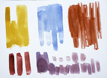 Watercolor Texture Royalty Free Stock Photo