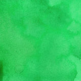 Watercolor texture rich green emerald mint color. watercolor abstract background stock illustration
