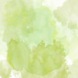 Watercolor texture with soft colors Stock Photography