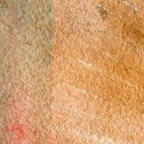 Watercolor texture of a transparent brown color. Illustration. Watercolor abstract background, spots, blur, fill, print, nabryzg,. Watercolor texture of a Royalty Free Stock Photography