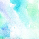 Watercolor texture transparent light blue.  abstract background, spot, blur, fill Stock Photos