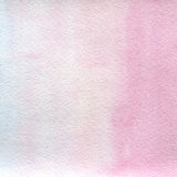 Watercolor texture transparent pink and blue colors.  abstract background, spot, blur, fill. Stock Photos