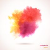 Watercolor texture. Royalty Free Stock Images