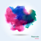 Watercolor texture. Stock Image