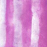 Watercolor texture vertical stripes of magenta pink. Illustration. Watercolor grunge abstract background, blots, blur, pouring, pr Royalty Free Stock Photo