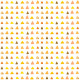 Watercolor triangle pattern Stock Photography