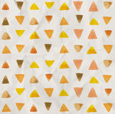 Watercolor triangle pattern Royalty Free Stock Photography