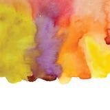 Watercolor vector background. Stock Photo