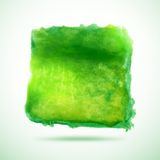 Watercolor vector background. Abstract grunge blob Royalty Free Stock Photo